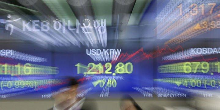 Won ve yuan Asya paralarında düşüşe öncülük etti