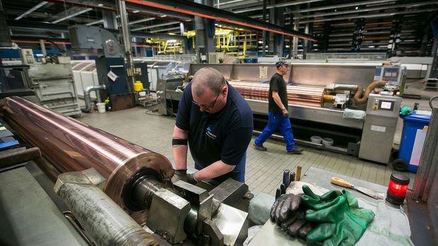 Almanya'da sanayi üretimi Şubat'ta beklenmedik şekilde azaldı