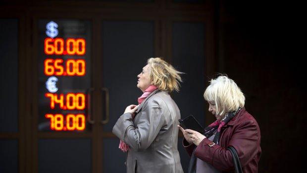 Ruble sert düşüşün ardından toparlandı