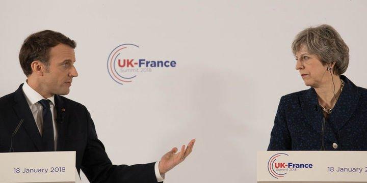 Fransa Cumhurbaşkanı Macron, Trump ve May ile görüştü
