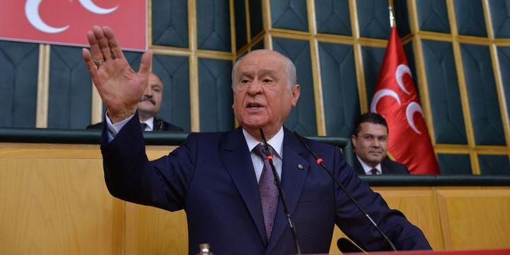 Bahçeli: Cumhurbaşkanı adayımız Sayın Recep Tayyip Erdoğan'dır