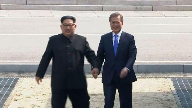 Kim-Moon görüşmesi olumlu havada geçti
