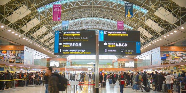 Türkiye havalimanları 1.5 milyar yolcuyu ağırladı