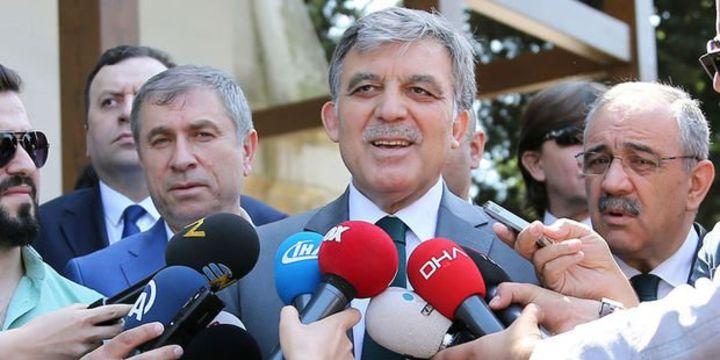 Abdullah Gül: Adaylığım söz konusu değildir