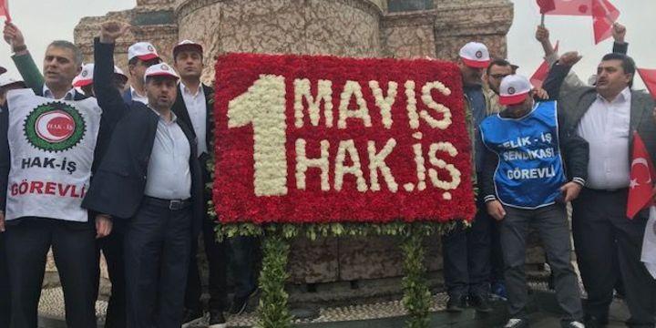 1 Mayıs Emek ve Dayanışma Günü nedeniyle Taksim