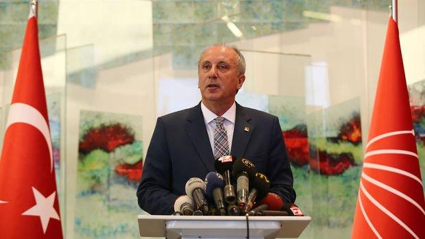 CHP'nin cumhurbaşkanı adayı olacağı söylenen İnce'den paylaşım