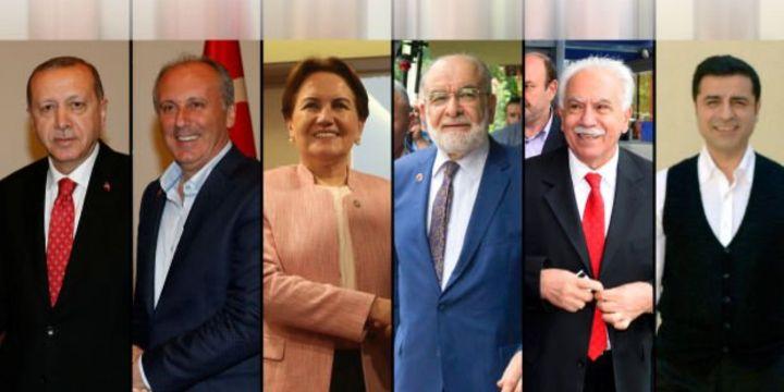 Cumhurbaşkanı kesin aday listesi belli oldu