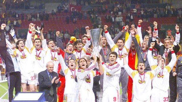 Galatasaray'ın UEFA Kupası zaferinin 18. yıldönümü