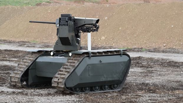Türkiye'nin insansız kara aracı göreve hazır