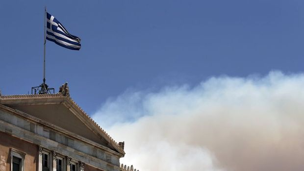 Yunanistan ekonomisi llk çeyrekte yüzde 0,8 büyüdü