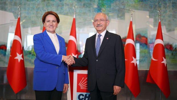 Akşener Kılıçdaroğlu'nu ziyaret etti