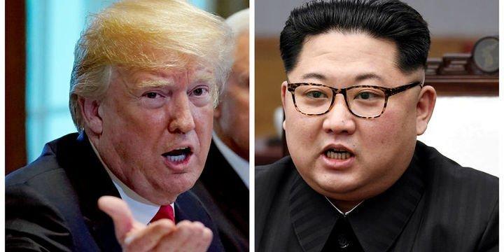 Trump ve Kim 12 Haziran