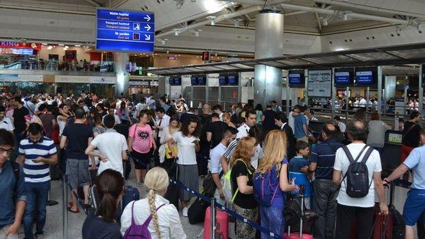 Havayolu yolcu sayısı 5 ayda 78,1 milyonu aştı