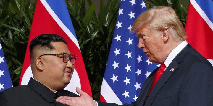 Trump: Kuzey Kore artık bir nükleer tehdit değil