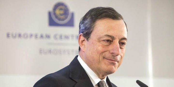 AMB/Draghi: Veriler güçlü büyümeyle uyumlu olmayı sürdürüyor