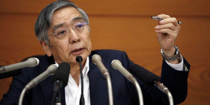 BOJ/Kuroda: Ticaret anlaşmazlığı Asya
