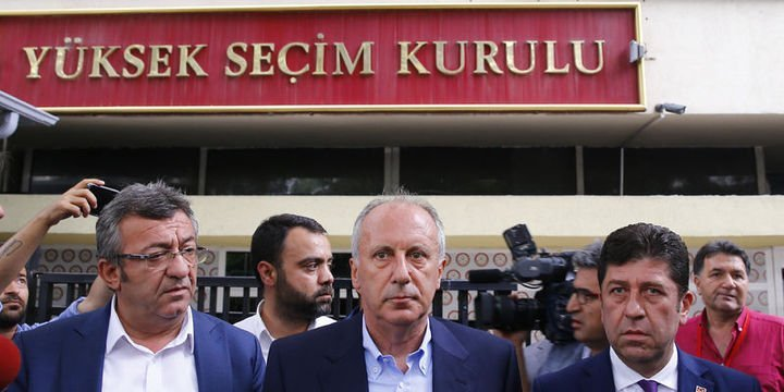 İnce: Erdoğan