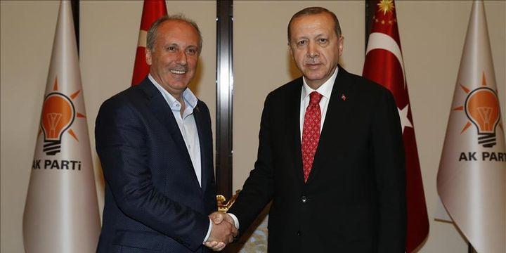 İnce Cumhurbaşkanı Erdoğan