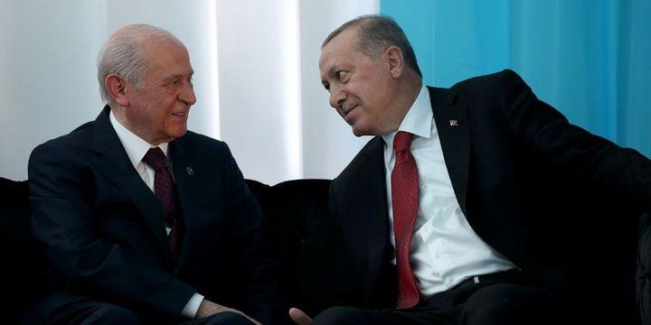 Erdoğan ve Bahçeli bugün görüşecek