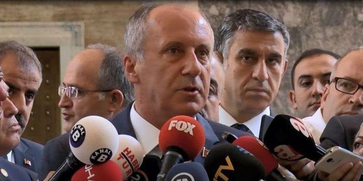 İnce: CHP karışmadı, çok güçlü geliyor
