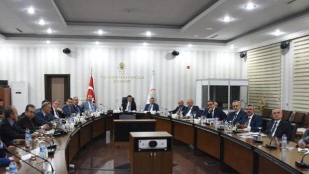 Tarım Bakanı Pakdemirli brifing aldı