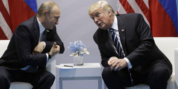 Trump Putin ile özel zirvede bir araya gelecek