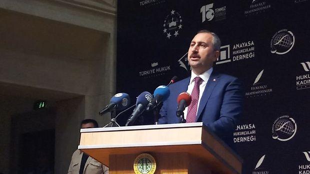 Adalet Bakanı Gül: OHAL bir kaç gün içinde sona ermiş olacak