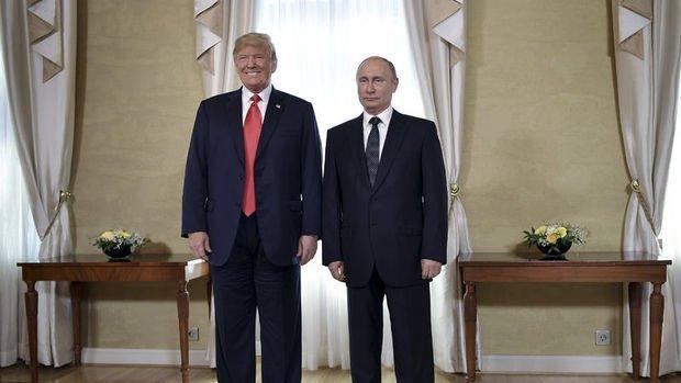 Trump: Putin ile görüşme herkes için iyi bir başlangıç oldu