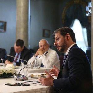 ALBAYRAK: EKONOMİSTLER TOPLANTISI DÜZENLİ HALE GETİRİLECEK