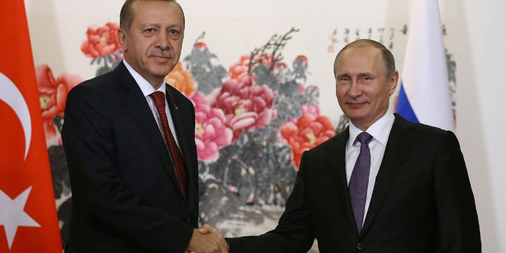 """Erdoğan ile Putin, bu yıl ikinci kez """"yüz yüze"""" görüşecek"""
