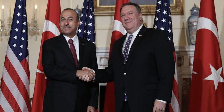Mevlüt Çavuşoğlu ABD Dışişleri Bakanı Pompeo ile görüştü