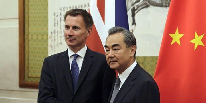 İngiliz Bakandan Çin