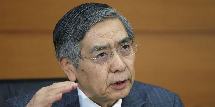 BOJ/Kuroda: 10 yıllıklarda işlem aralığı iki katına çıkabilir