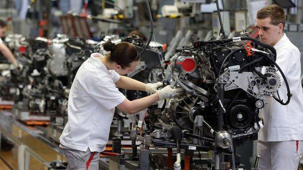 Almanya'da fabrika siparişleri Haziran'da beklentiden fazla düştü