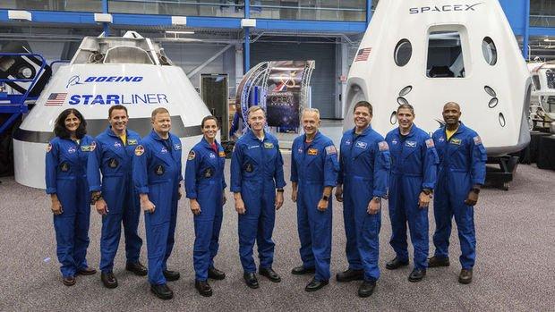 SpaceX ile Boeing'in insanlı uzay uçuşlarına gelecek yıl başlanacak