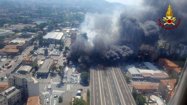 İtalya'da patlama; 1 ölü, 55 yaralı