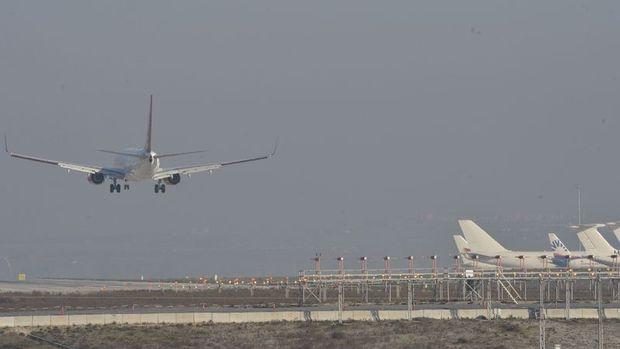 DHMİ: Türkiye'de havayolu yolcu sayısı Temmuz'da yıllık % 6.3 arttı