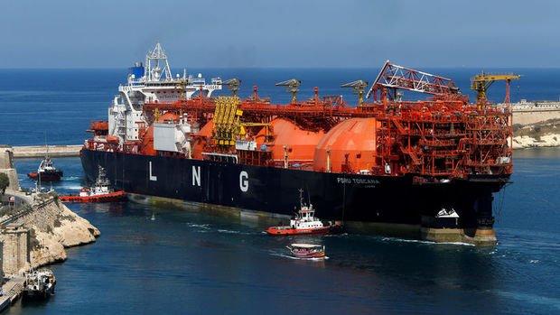 AB'nin ABD'den LNG ithalatı 2,8 milyar metreküpe ulaştı