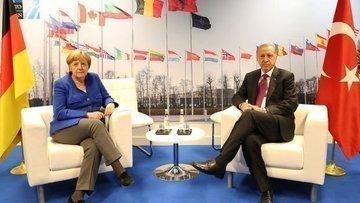 Erdoğan ve Merkel bir araya geliyor