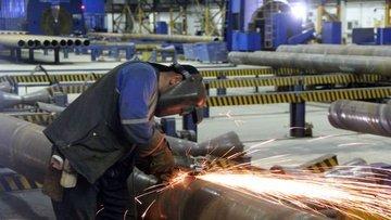 Sanayi üretimi Haziran'da aylık % 2 azaldı