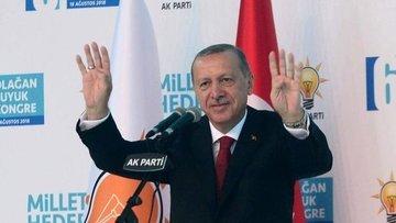 Erdoğan yeniden AK Parti Genel Başkanlığı'na seçildi