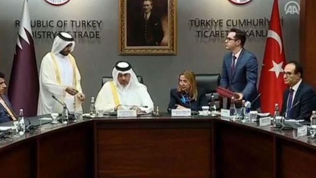 Türkiye-Katar Ticaret ve Ekonomik Ortaklık Anlaşması paraflandı