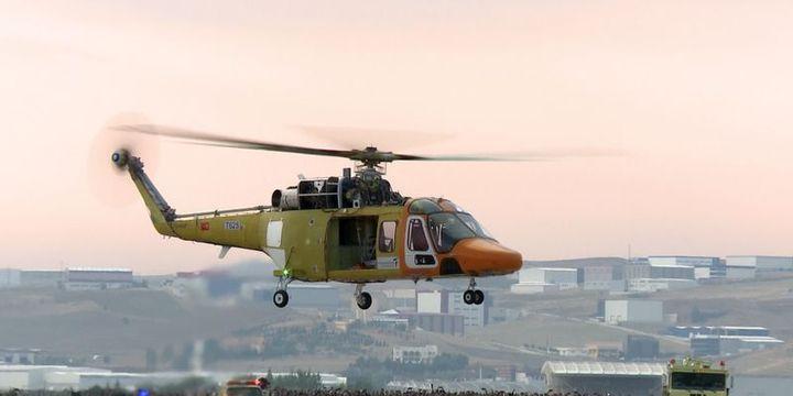 Özgün helikopter ilk uçuşunu gerçekleştirdi