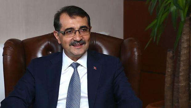 Enerji Bakanı: İlk sondaj 1-2 ay içerisinde Akdeniz'de olacak