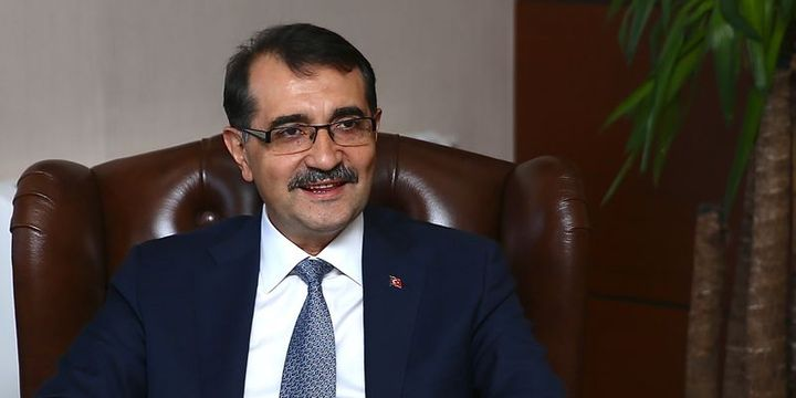 Enerji Bakanı: İlk sondaj 1-2 ay içerisinde Akdeniz