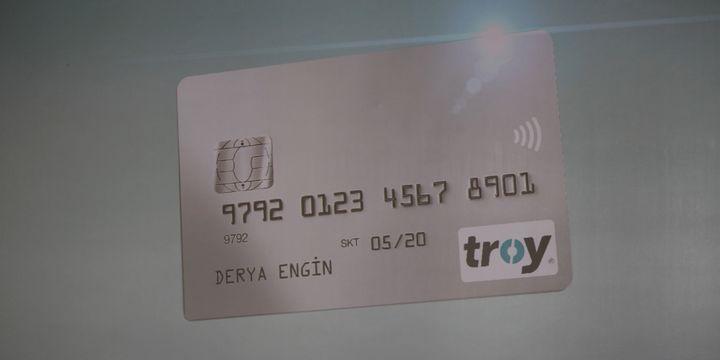 'TROY' logolu kredi kartları  artık yurt dışında kullanılabiliyor