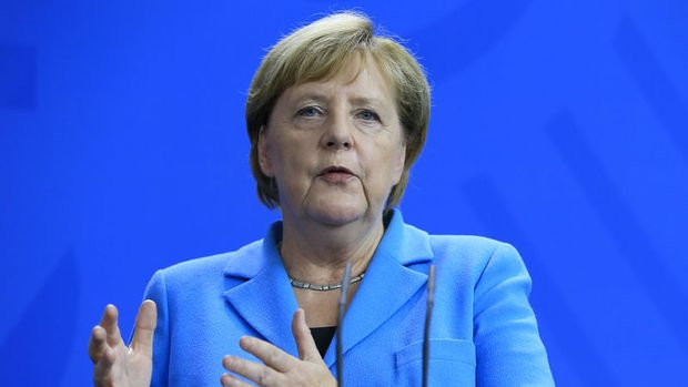 Merkel: Türkiye ekonomisinin sağlıklı gelişmesi Almanya'nın çıkarına