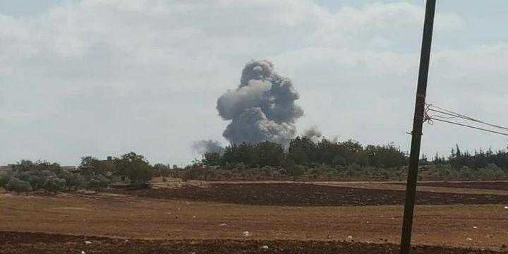 Suriye ve Rus uçakları İdlib