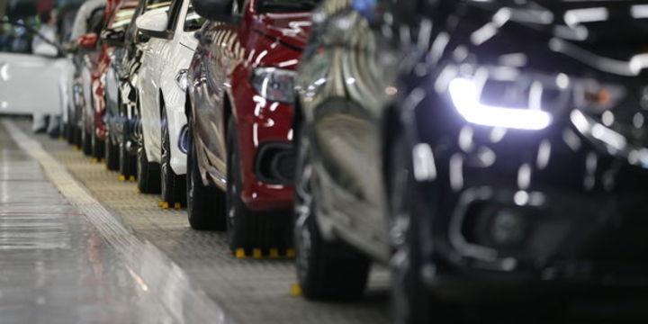 Otomotiv üretimi Ocak-Temmuz döneminde yüzde 3 azaldı