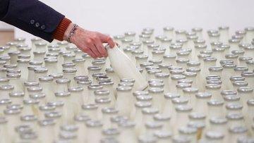 Toplanan inek sütü miktarı Temmuz'da arttı